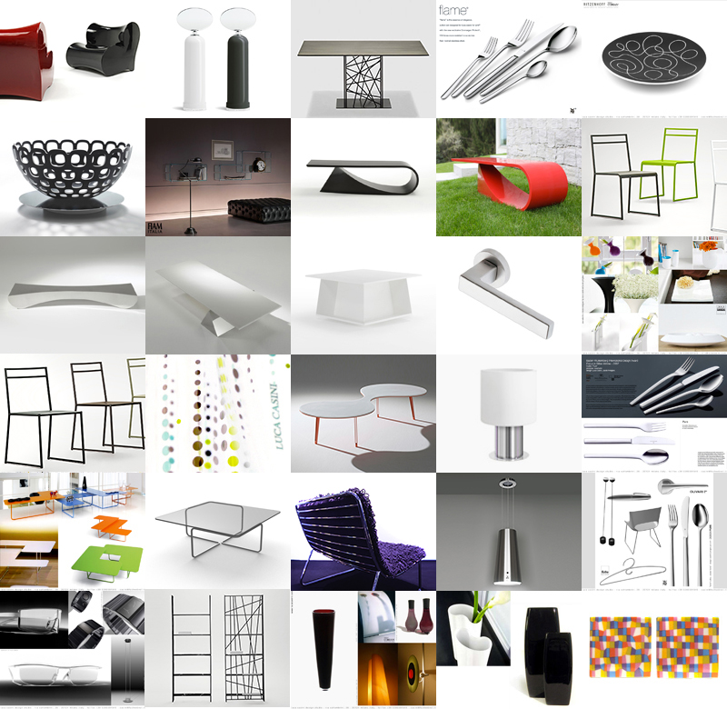 design studio images of products